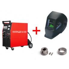 Купить в Минске Полуавтомат инверторный SOLARIS MIG-250-HD + AK цена