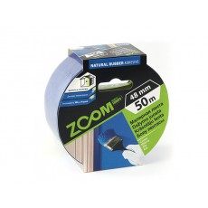 Купить в Минске Лента малярная профессиональная 48ммх50м ZOOM, синяя цена