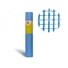 Купить в Минске Стеклосетка штукатурная 5х5, 1мх50м, 160 гр/м2 синяя, PROFESSIONAL (нагрузка 1700Н/м2) (ЮО) цена