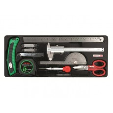 Купить в Минске Набор-сет измерительного инструмента 11пр. 434х176мм TOPTUL (GCAT1101) цена