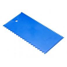 Купить в Минске Шпатель пластмассовый зубчатый 101x202мм STARTUL MASTER (ST1141) цена
