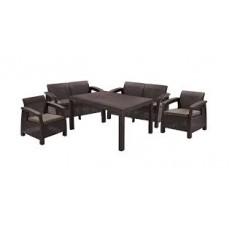 Комплект мебели Corfu Fiesta (Корфу Фиеста), коричневый/шоколадный