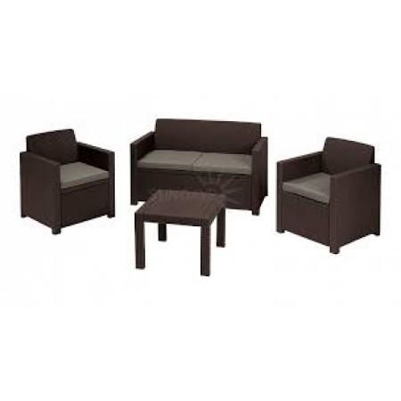 Купить в Минске Комплект мебели Alabama set (Алабама Сэт), графитовый цена