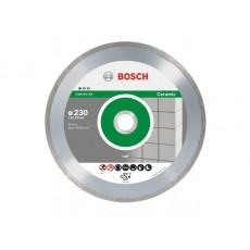 Алмазный круг 230х22,23мм керамика Professional (BOSCH) 2608602205