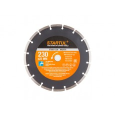 Алмазный круг 230х22 мм универс. сегмент. MASTER STARTUL  ST5051-230