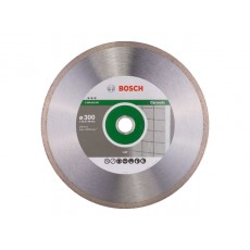 Алмазный круг 300х25.4/30 мм по керамике сплошн. BEST FOR CERAMIC BOSCH  2608602639