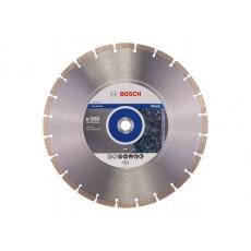 Алмазный круг 350х20/25.4 мм по камню сегмент. STANDARD FOR STONE BOSCH  2608602603