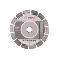 Алмазный круг 180х22 мм по бетону сегмент. EXPERT FOR CONCRETE BOSCH  2608602558