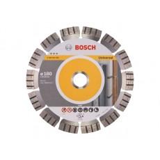 Алмазный круг 180х22 мм универс. сегмент. Turbo BEST FOR UNIVERSAL BOSCH  2608602664
