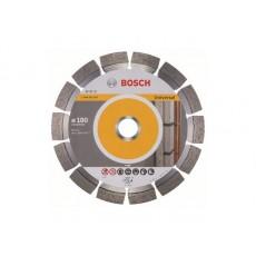 Алмазный круг 180х22 мм универс. сегмент. EXPERT FOR UNIVERSAL BOSCH  2608602567