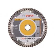 Алмазный круг 180х22 мм универс. Turbo STANDARD FOR UNIVERSAL BOSCH  2608602396