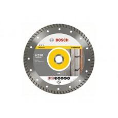 Алмазный круг 230х22,23мм универсальный Professional Turbo (BOSCH) 2608602397
