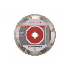 Алмазный круг 180х22 мм по мрамору сплошн. BEST FOR MARIBLE BOSCH  2608602692