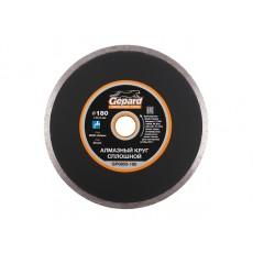 Алмазный круг 180х22 мм по керамике сплошн. GEPARD  GP0803-180