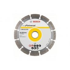 Алмазный круг 150х22 мм универс. сегмент. ECO UNIVERSAL BOSCH  2608615042