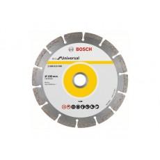 Алмазный круг 180х22 мм универс. сегмент. ECO UNIVERSAL BOSCH  2608615043