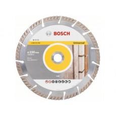 Алмазный круг 230х22.2 мм универс. сегмент. Turbo STANDARD FOR UNIVERSAL BOSCH  2608615065