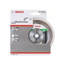 Купить в Минске Алмазный круг 115х22 мм BEST FOR HARD CERAMIC BOSCH (сухая резка) 2608615076 цена