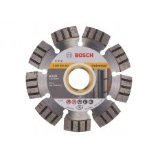 Купить в Минске Алмазный круг 115х22 мм Turbo BEST FOR UNIVERSAL BOSCH (сухая резка) 2608602661 цена