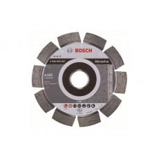 Купить в Минске Алмазный круг 125х22 мм по абразив. матер. сегмент. EXPERT FOR ABRASIVE BOSCH 2608602607 цена