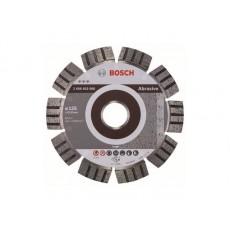 Купить в Минске Алмазный круг 125х22 мм по абразив. матер. сегмент. Turbo BEST FOR ABRASIVE BOSCH 2608602680 цена