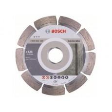 Купить в Минске Алмазный круг 125х22 мм по бетону сегмент. STANDARD FOR CONCRETE BOSCH 2608602197 цена