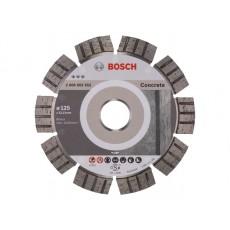 Купить в Минске Алмазный круг 125х22 мм по бетону сегмент. Turbo BEST FOR CONCRETE BOSCH 2608602652 цена