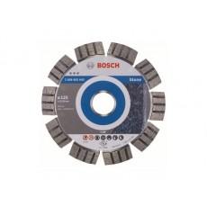 Купить в Минске Алмазный круг 125х22 мм по камню сегмент. Turbo BEST FOR STONE BOSCH 2608602642 цена