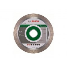 Купить в Минске Алмазный круг 125х22 мм по керамике сплошн. BEST FOR CERAMIC BOSCH 2608602631 цена