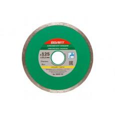 Купить в Минске Алмазный круг 125х22 мм по керамике сплошн. ВОЛАТ (мокрая резка) 89030-125 цена
