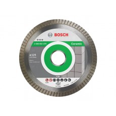 Купить в Минске Алмазный круг 125х22 мм по керамике Turbo BEST FOR CERAMIC EXTRA-CLEAN BOSCH 2608602479 цена