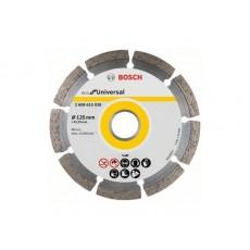 Купить в Минске Алмазный круг 125х22 мм универс. сегмент. ECO UNIVERSAL BOSCH 2608615041 цена