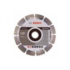 Купить в Минске Алмазный круг 150х22 мм по абразив. матер. сегмент. STANDARD FOR ABRASIVE BOSCH 2608602617 цена
