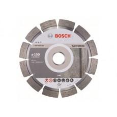 Купить в Минске Алмазный круг 150х22 мм по бетону сегмент. EXPERT FOR CONCRETE BOSCH 2608602557 цена