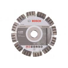 Купить в Минске Алмазный круг 150х22 мм по бетону сегмент. Turbo BEST FOR CONCRETE BOSCH 2608602653 цена