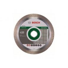 Купить в Минске Алмазный круг 150х22 мм по керамике сплошн. BEST FOR CERAMIC BOSCH 2608602632 цена