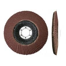 Круг лепестковый 125х22мм А100 конический (LUGAABRASIV) 4603347277126