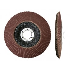 Круг лепестковый 125х22мм А36 конический (LUGAABRASIV) 4603347277171