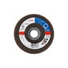 Круг лепестковый 125х22 K80 д/мет. (BOSCH) 2608606718