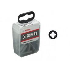 """Набор бит Extra Hard PZ2  x 25мм в упаковке """"Tic Tac"""" 2608522187"""