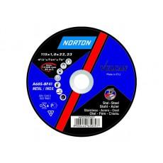 Круг отрезной 115х2.5x22.2 мм для металла Vulcan NORTON 66252925432