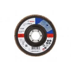 Круг лепестковый 115х22.2 мм K120 конический STANDARD FOR METAL BOSCH 2608603655