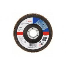 Круг лепестковый 125х22.2 мм K40 плоский STANDARD FOR METAL BOSCH 2608603716