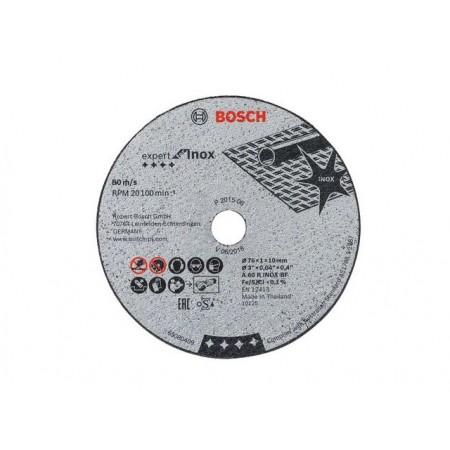 Круг отрезной 76х1.0x10.0 мм для нерж. стали Expert BOSCH (5 шт.) (для GWS 10,8-76 V-EC)