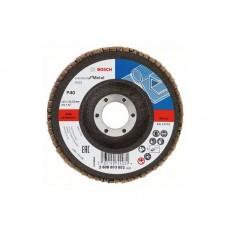 Купить в Минске Круг лепестковый 115х22.2 мм K40 конический STANDARD FOR METAL BOSCH 2608603652 цена