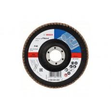 Купить в Минске Круг лепестковый 125х22.2 мм K40 конический STANDARD FOR METAL BOSCH 2608603656 цена