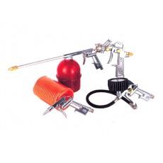 Купить в Минске Набор пневмоинструмента ECO SGK-5 (5 предметов,верх. бак) цена