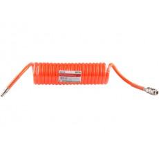 Купить в Минске Шланг полиурет. спиральный ф 8/12 мм с быстросъемн. соед. ECO (длина 5м) цена