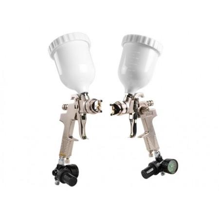 Купить в Минске Краскораспылитель ECO SG-97H14 с манометром (HVLP, сопло ф 1.4мм, верх. бак 600мл) цена
