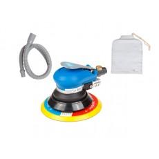 Купить в Минске Пневмошлифмашина эксцентриковая DGM DTP-1502 с пылеотсосом (150мм, 10000 об/мин, 180 л/мин) цена